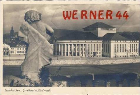 Saarbrücken v.1939 Gautheater-Westmark (7293)