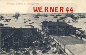 Colombo Harbour & Landing Jetty v. 1910  (27443)