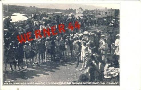Candelario Curio Santa Fe N.M. v. 1922 siehe beschr. !!  (27447)