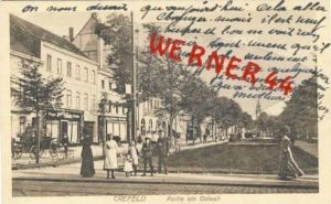 Crefeld v.1919 Partie am Ostwall (7740)