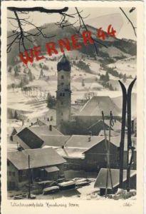 Nesselwang v. 1960  Teil-Dorf-Ansicht  (7099-D)