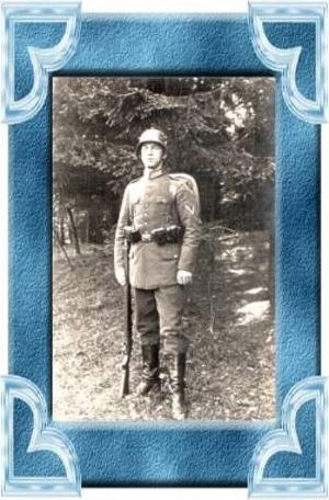 Sennelager v.1925 Soldat (9354)