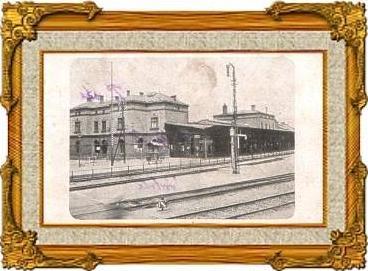 Herbesthal v.1916 Grenz-Bahnhof (13594)