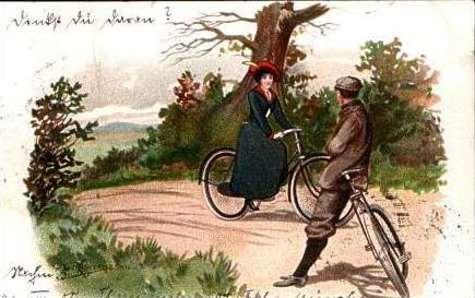 Fahrräder v.1905 siehe Foto (14399-013)
