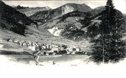 Airolo v.1904 Dorfansicht (15687)
