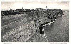 Helgoland v.1932 Westküste nach Süden (15974)