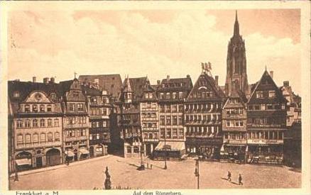Frankfurt v.1915 Auf dem Römerberg (16126) 0