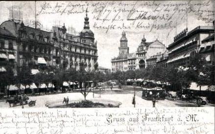 G. a. Frankfurt v.1899 .Rossmarkt (16127) 0