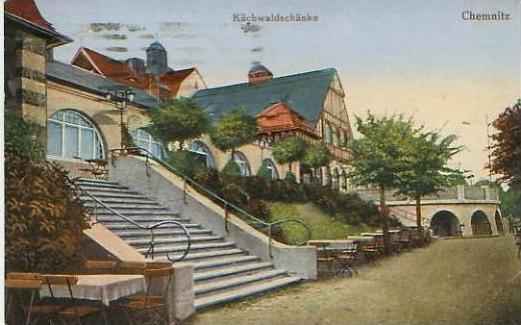 Chemnitz v.1925 Küchwaldschenke (19172) 0