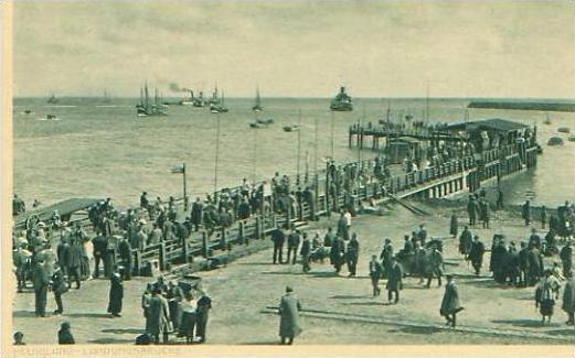 Helgoland v.1920 Landungsbrücke (19197) 0