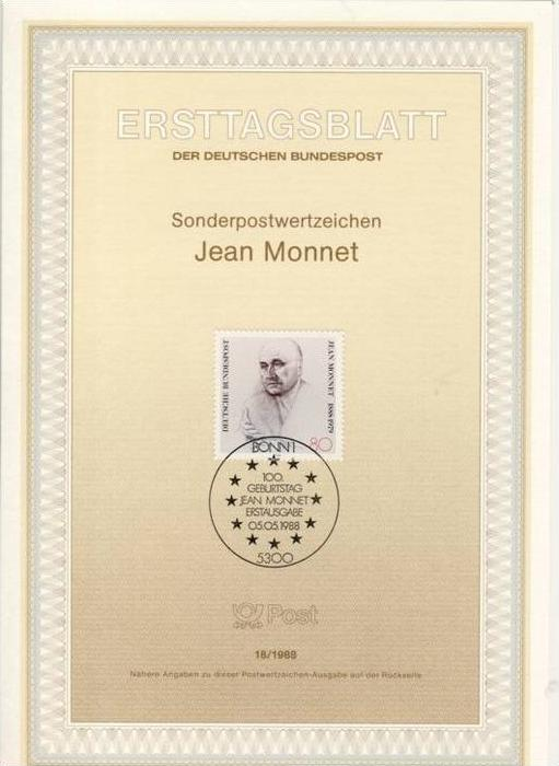 BRD - ETB (Ersttagsblatt) 18/1989 Michel 1423 - Franz Xaver Gabelsberger