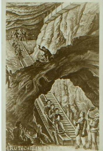 Rutsche im Bergwerk v.1924 (19376) 0