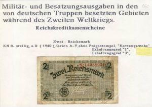 Millitär & Besatzungsausgabe v. 1940  siehe beschreibung !! (060)