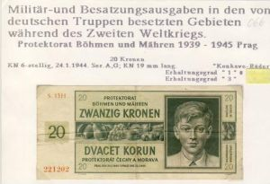 Millitär & Besatzungsausgabe v. 1940  siehe beschreibung !! (066)