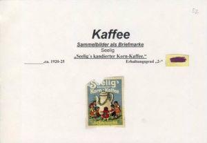 WERBUNGS-MARKE --- KAFFEE - SEELIG ca. v. 1925  --- siehe beschr. !! (52)