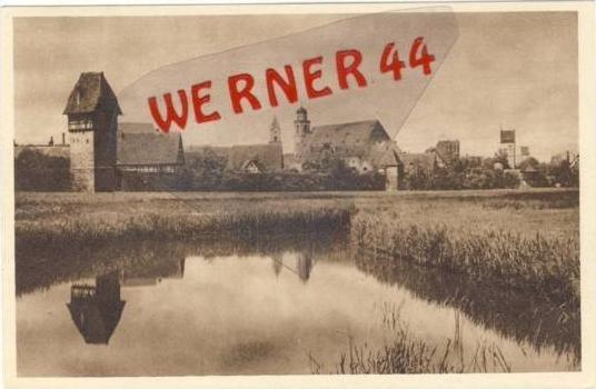 Dinkelsbühl v.1935 Teil-Stadt-Ansicht (19805)
