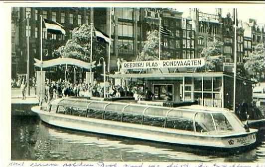 Amsterdam v.1953 Schiff-Rundfahrt .(20070) 0