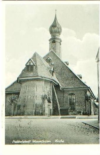 Wesselburen v.1943 Kirche .(20091) 0
