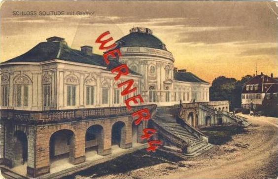 Schloß Solitude von 1910 Schloß & Gasthof (21642)