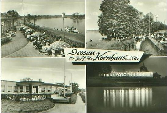 Dessau von 1971 4 Ansichten (22613)