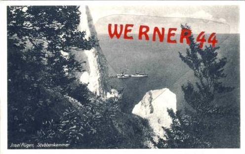Rügen v. 1950 Stubbenkammer & Schiffe (23351)