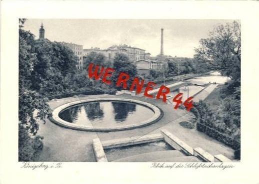 Königsberg v. 1936 Schloßteichanlagen (23682)