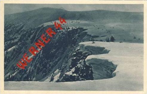Riesengebirge v. 1938  Wächten über dem Elbegrunde  (23756)