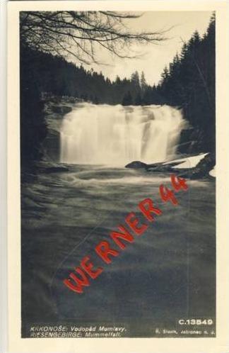Riesengebirge v. 1938  Mummelfall  (23757)