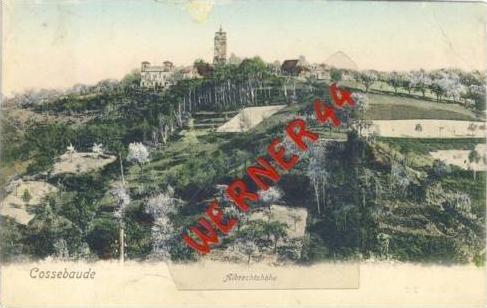Riesengebirge v. 1912  Cossebaude - Albrechtshöhe  (23799)