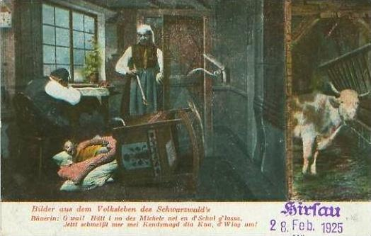 Hirsau v. 1925  Volksleben im Schwarzwald   (23957)