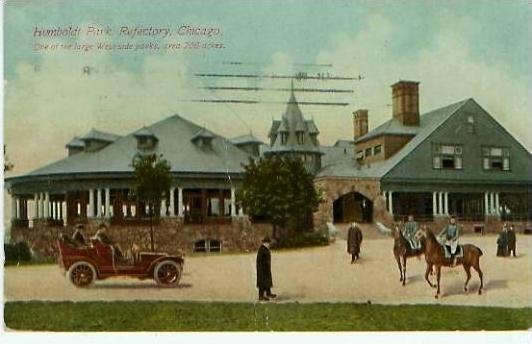 Chicago v. 1911  Humboldt Park-Refectory -- siehe Foto !!   (24262)