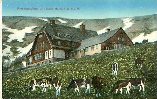 Riesengebirge v. 1923 Alte schle. Baude  (24635)