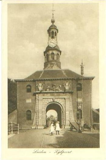 Leiden v. 1918   Zylpoort  (24666)