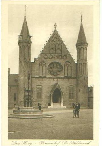 DenHaag v. 1918   Binnenhof De Ridderzaal  (24656)