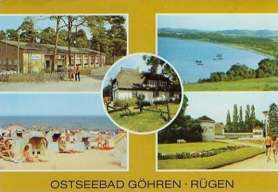 Ostseebad Göhren-Rügen v. 1989  5 Ansichten  (24723)