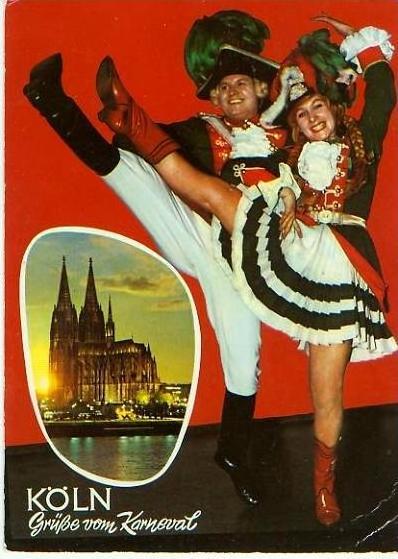 Köln v. 1962  Grüsse vom Karneval  (24738)