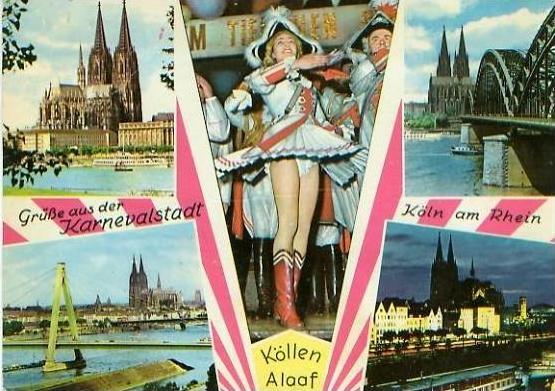 Köln v. 1963  Grüsse vom Karneval -- Köllen Alaaf  (24739)