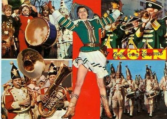 Köln v. 1965  Grüsse vom Karneval   (24740)