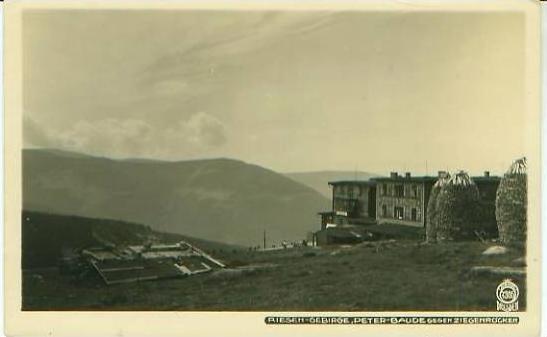 Riesengebirge v. 1929  Die Peter Baude - siehe Foto !!  (25098)