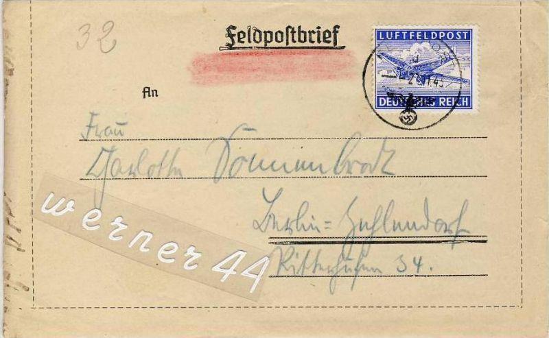 Berlin v. 1943   -  siehe Foto !!  (26268)
