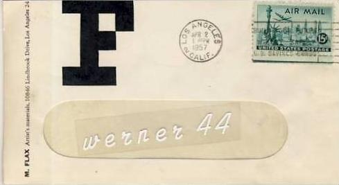 Los Angeles v. 1957  -  siehe Foto !!  (26338)