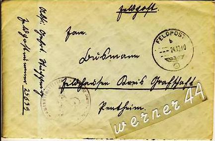 Veldhausen-Grafschaft Bentheim v. 1940  Pastor Busmann  (26412)