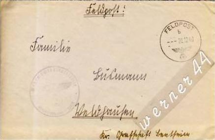 Veldhausen-Grafschaft Bentheim v. 1940  Pastor Busmann  (26413)