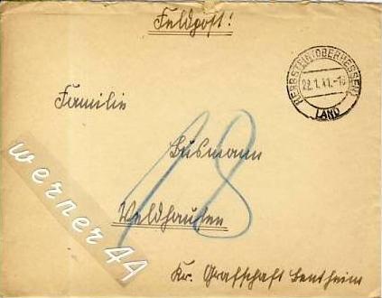 Veldhausen,Grafschaft Bentheim v. 1941  Pastor Busmann  (26415)