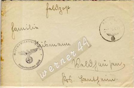 Veldhausen,Grafschaft Bentheim v. 1941  Pastor Busmann  (26419)