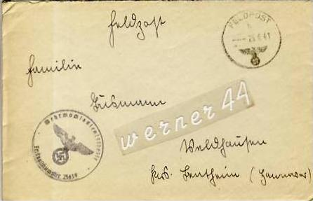 Veldhausen,Grafschaft Bentheim v. 1941  Pastor Busmann  (26420)