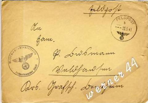 Veldhausen,Grafschaft Bentheim v. 1941  Pastor Busmann  (26421)