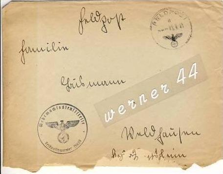 Veldhausen,Grafschaft Bentheim v. 1941  Pastor Busmann  (26422)