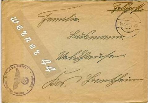 Veldhausen,Grafschaft Bentheim v. 1941  Pastor Busmann  (26425)