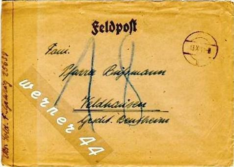 Veldhausen,Grafschaft Bentheim v. 1940  Pastor Busmann  (26442)